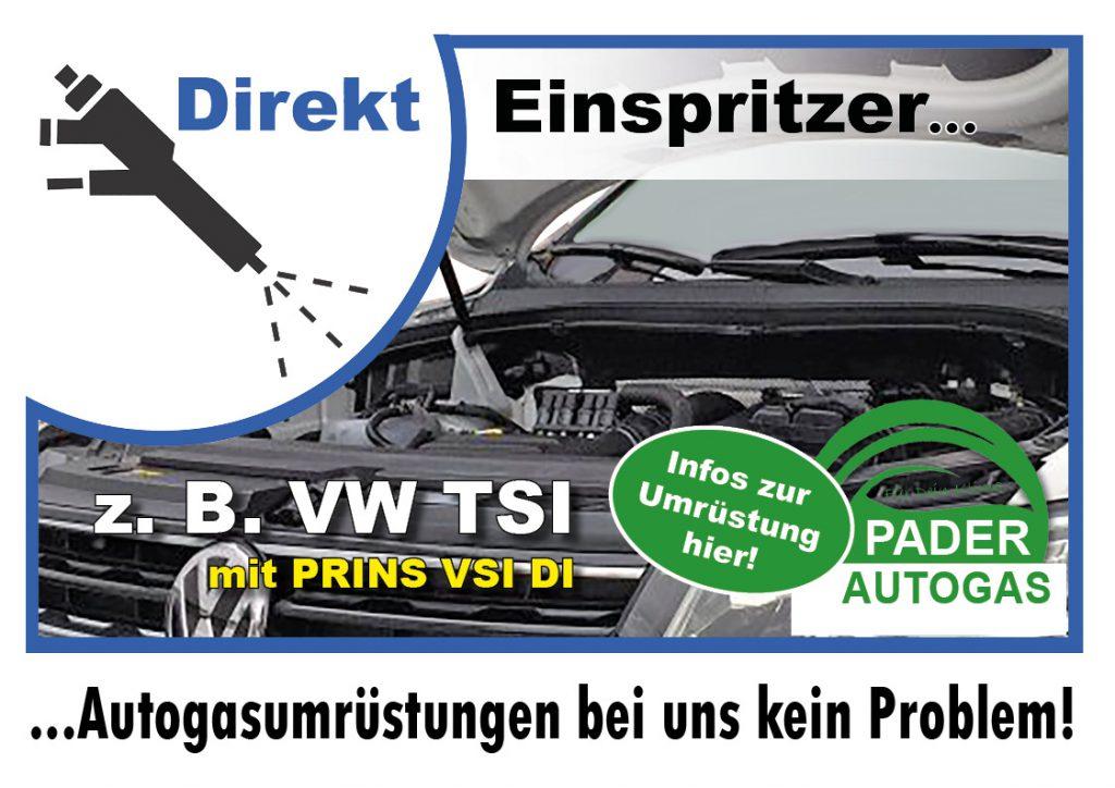 Autogasumrüstung Prins Direkteinspritzer